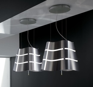 Elica Decorative Ceiling Mounted Hoods