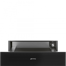 Linea Black Warming Drawers
