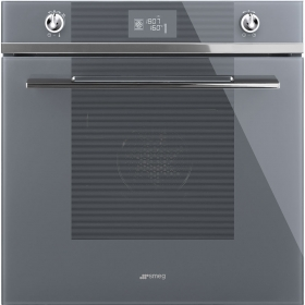 Linea Silver Glass Ovens