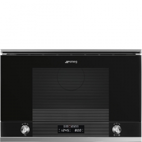 Linea Black Microwaves