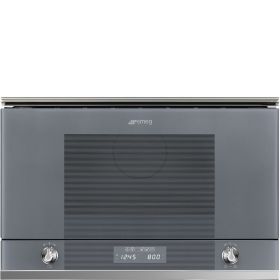 Linea Silver Glass Microwaves
