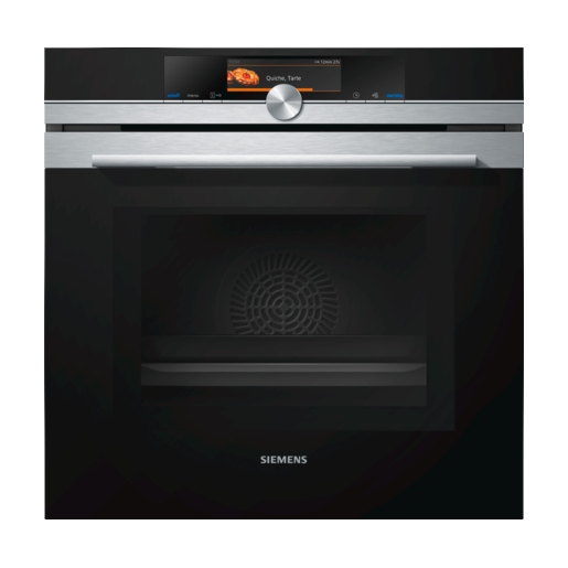 Siemens Single Ovens with Steam Function
