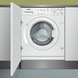 Siemens Integrated Laundry Appliances