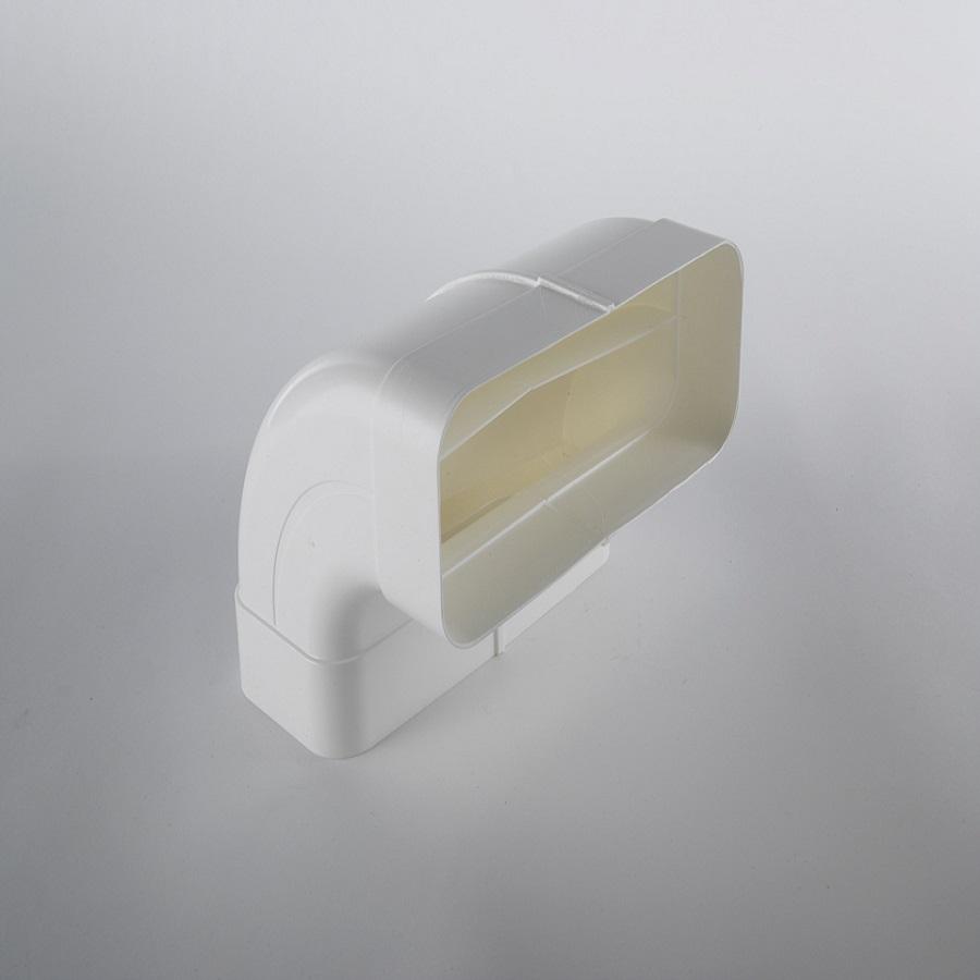 Elica KIT0121005 Nikolatesla DO ducting rectangular 90° vertical curve