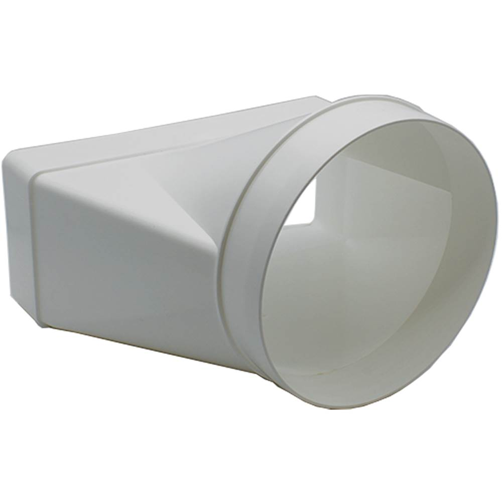 AA-DUCT004 220mm x 90mm rectangular to 150mm / 6