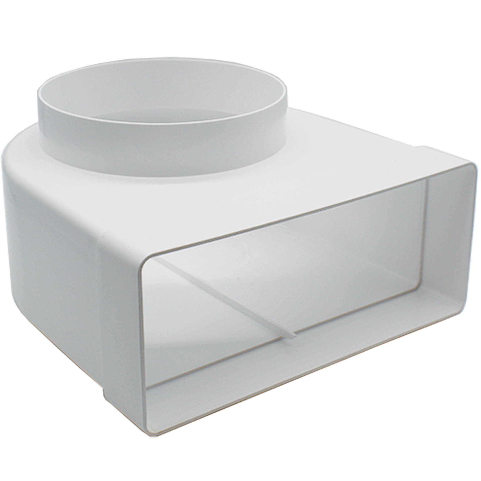 AA-DUCT005 220mm x 90mm rectangular to 150mm / 6