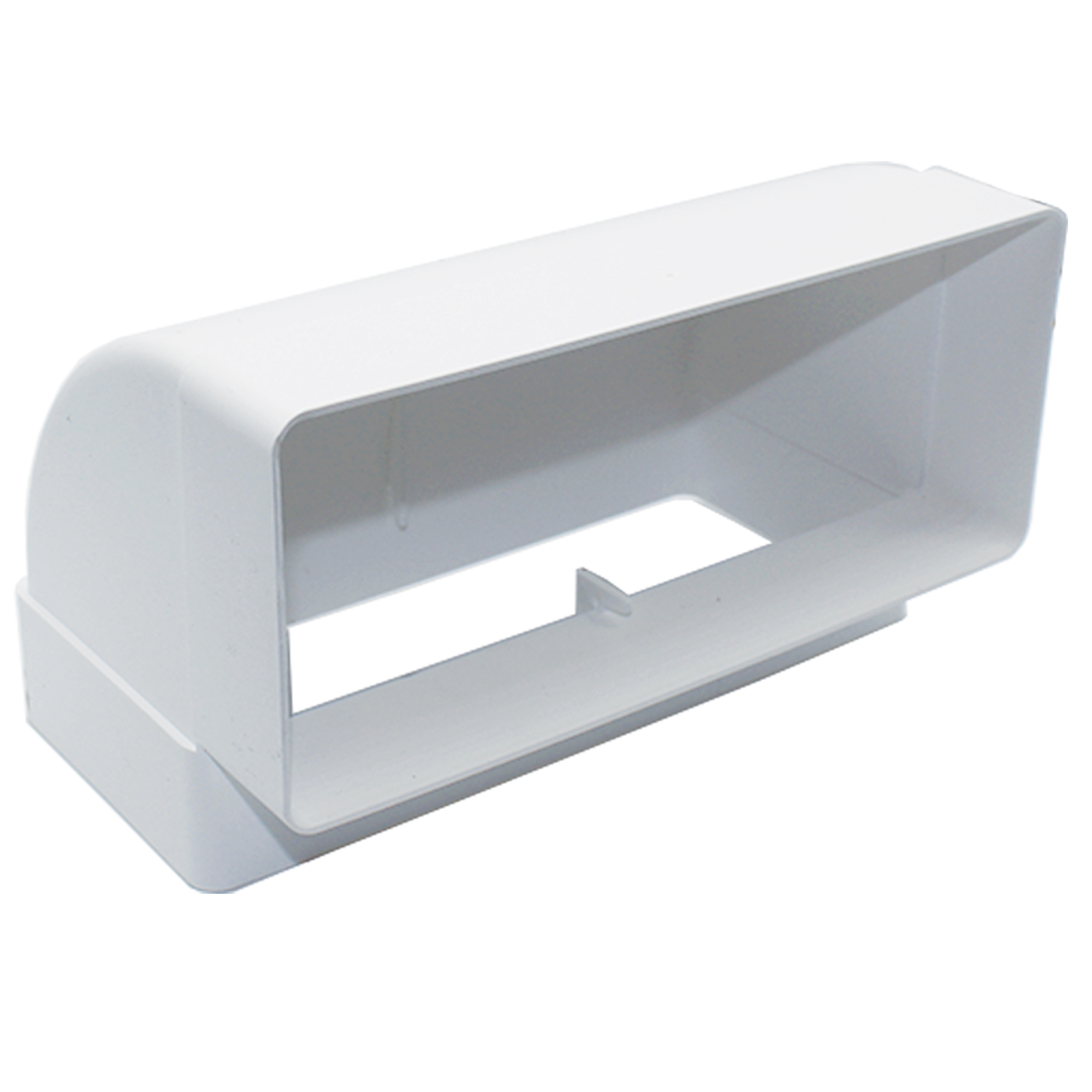 AA-DUCT012 220mm x 90mm rectangular 90 Degree Vertical Elbow Bend