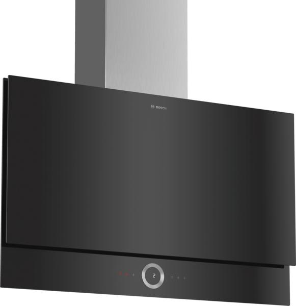 Bosch DWF97RV60B Flat Black Glass designer Cooker Hood
