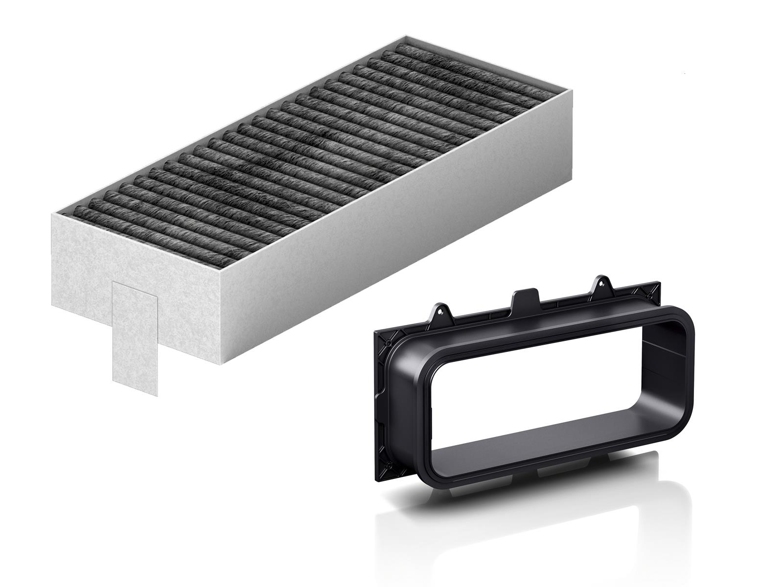 Bosch HEZ9VRUD0 Unducted Recirculation Kit suitable for ducting through back of furniture