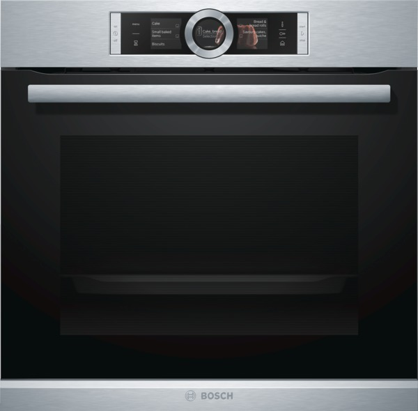 Bosch HRG6769S6B Pyrolytic self-cleaning Oven with Added Steam