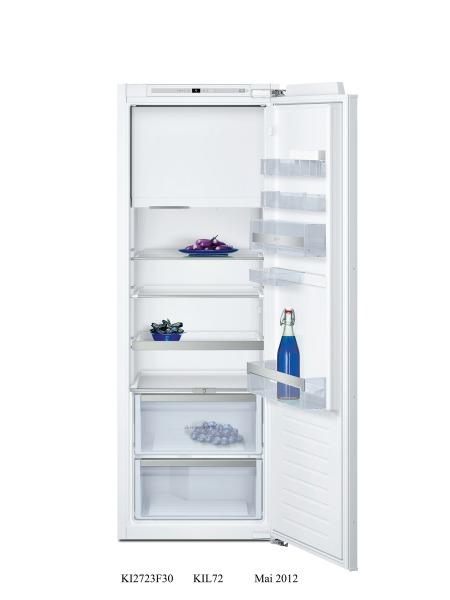 Neff KI2723F30G Tall Integrated fridge with ice box