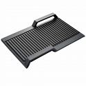 Siemens HZ390522 Griddle plate, approx. 40x20 cm for use with Flex Induction