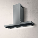 Elica HAIKU-120-SS 120cm wide wall mounted cooker hood in Stainless Steel