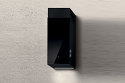Elica HAIKU-32-BLK 32cm wide wall mounted cooker hood in black