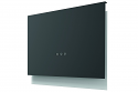 Faber Talíka DG MATT A80 800mm wide wall mounted designer cooker hood in dark grey matt finish