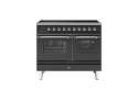 ILVE Milano PDI10NE3 100cm cooker 60cm + 40cm ovens and 6 Zone Induction Top