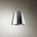 Elica JUNO-SS Ceiling Mounted Island Hood in Stainless Steel