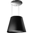 Elica EASY BLACK Designer Ceiling or Wall mounted cooker hood in Black
