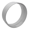 """AA-DUCT007 150mm / 6"""" Flexible to Rigid pipe joiner"""