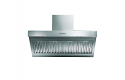 ILVE AGQ100/I Modern Stainless Steel Wall Mounted Cooker Hood 100cm wide