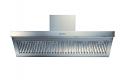 ILVE AGQ150/I Modern Stainless Steel Wall Mounted Cooker Hood 150cm wide