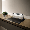 Elica AND-GME-90-WH 90cm White Downdraft Extractor for use with separate motor