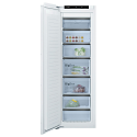 Bosch GIN81HCE0G Tall frost free integrated freezer with soft close fixed hinge and Home Connect