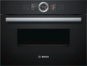Bosch CMG656BB6B Compact Oven with Microwave in Black