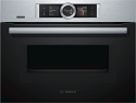 Bosch CMG676BS6B Compact oven with microwave