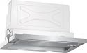 Neff D46ML54N0B 60cm wide telescopic cooker hood