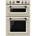 Smeg DOSF6920P1 'Victoria' traditional Multifunction Double Oven, Cream