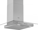 Bosch DWG64BC50B 60cm wide flat glass chimney hood