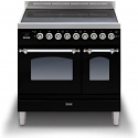 ILVE Milano PDI09NE3/SS 90cm cooker 60cm + 30cm ovens and 5 Zone Induction top