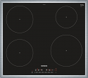 Siemens EH645FEB1E 583mm wide Induction hob with Stainless Steel Trim