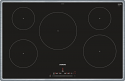 Siemens EH845FVB1E induction hob with stainless steel trim