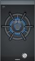 Siemens ER3A6AD70 Domino Wok burner gas hob