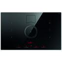 Elica Nikolatesla NT-SWITCH-BLK-DO SWITCH venting induction hob in Black - Duct Out Version
