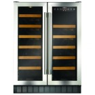 CDA FWC624SS 600mm Under Counter Wine Cooler