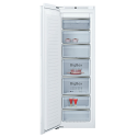 Neff GI7815CE0G Tall frost free integrated freezer with soft close fixed hinge and Home Connect