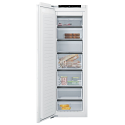Siemens GI81NHCE0G Tall frost free integrated freezer with soft close fixed hinge and Home Connect