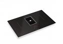 Faber Galileo Smart BK (Black Glass, 83cm x 52cm) Venting Hob