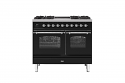 ILVE Milano PD10INE3 100cm cooker 60cm + 40cm ovens and 4 burner gas top and 2 zone induction