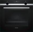 Siemens HB535A0S0B Single Oven in Black