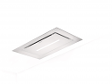 Faber Heaven Lite 90cm x 50cm White Glass ceiling Hood