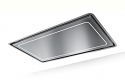 Faber High-Light X A91 910mm wide Ceiling Hood in Stainless Steel