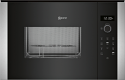 Neff HLAGD53N0B 38cm high Built In Microwave with Grill - N50 Series
