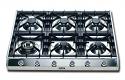 ILVE HP9656D 90cm Professional Gas Hob - 6 Burner