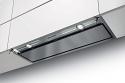 In-Nova Premium 90cm wide canopy hood in stainless steel