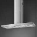 Smeg KBT1200XE 120cm Chimney Hood, Brushed Stainless Steel