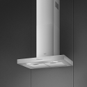 Smeg KBT700XE 70cm Chimney Hood, Brushed Stainless Steel